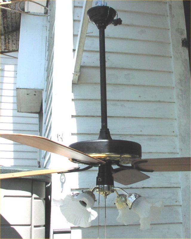 Hunter original ceiling fan post 1950 vintage antique fan hunter ornate 1g mozeypictures Choice Image