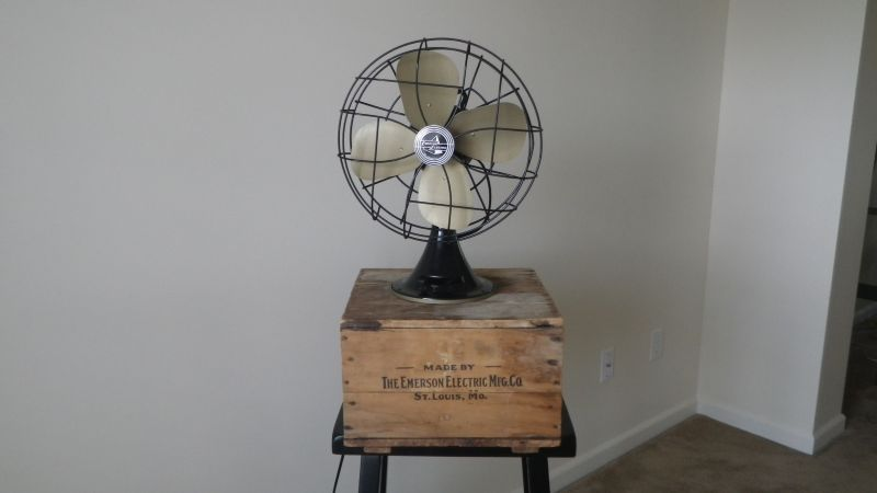 First Electric Fan : My first ever restoration of a fan emerson electric type
