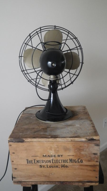What Was The First Electric Fan : My first ever restoration of a fan emerson electric type