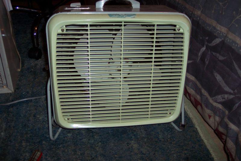 Small Box Fans : Box fans post vintage antique fan collectors