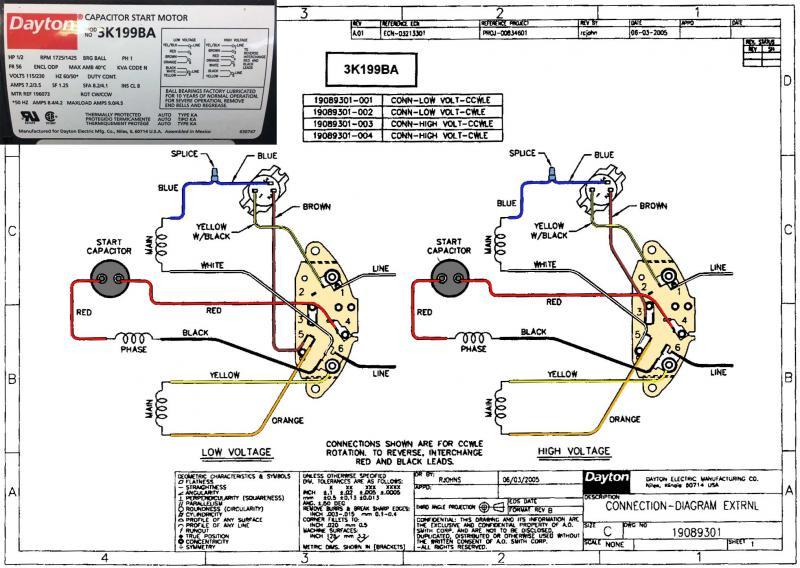 2 Speed Motor Wiring - Need A Motor Guru