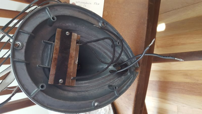 Westinghouse Model 12 LA Wiring - Pre-1950 (Antique) - Antique Fan  Collectors Association - AFCA ForumsAFCA Forums
