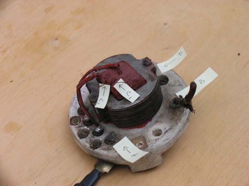 Wiring Emerson 21666 - Pre-1950  Antique